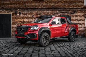 2019 Mercedes-Benz X-Class Exy OFF-ROAD Red by Carlex Design
